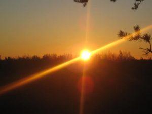 source: Sunrise,5:45am Flowers Cove,N.B.